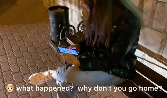 Русский пикапер на отказал новой подружке в съемке любительского порно